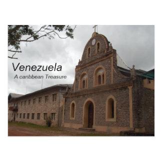 Collection Venezuela , A caribbean Treasure Postcard