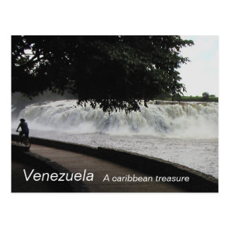 Collection Venezuela , A caribbean Treasure Postcard