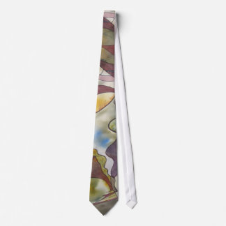 Collective Consciousness Watercolor Tie