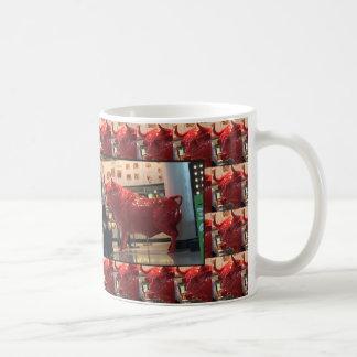 Collector's edition ALL OVER PRINT  BULL Animal Classic White Coffee Mug