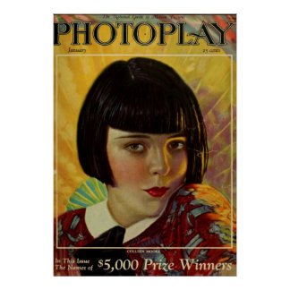 Colleen Moore Vintage Poster