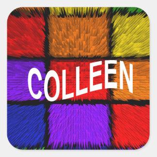 COLLEEN SQUARE STICKER
