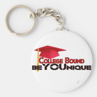 College Bound Keychain by beYOUnique