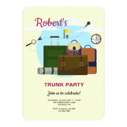 For A Trunk Party Gifts on Zazzle CA