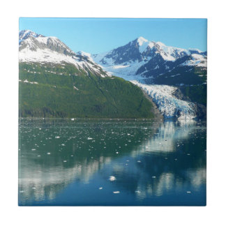 College Fjord I Beautiful Alaska Photography Tile