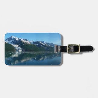 College Fjord II Beautiful Alaska Photography Luggage Tag