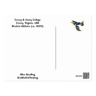 College Football!! Postcard