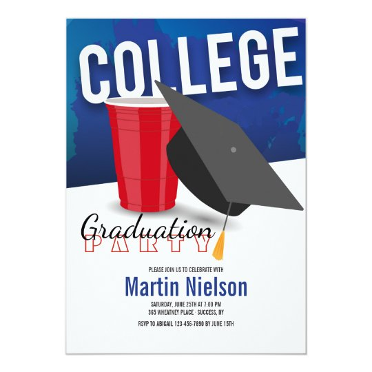 College Graduate Invitation