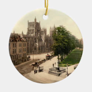 College Green, Bristol, England Ceramic Ornament