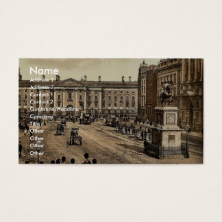College Green. Dublin. Co. Dublin, Ireland classic Business Card