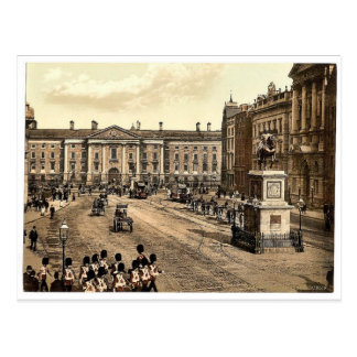College Green. Dublin. Co. Dublin, Ireland classic Postcard