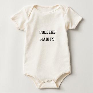 College Habits Baby Bodysuit