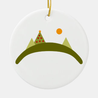 College Hill Ceramic Ornament