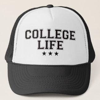College Life - Black Trucker Hat