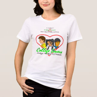 College Lovers T-shirt, White T-Shirt