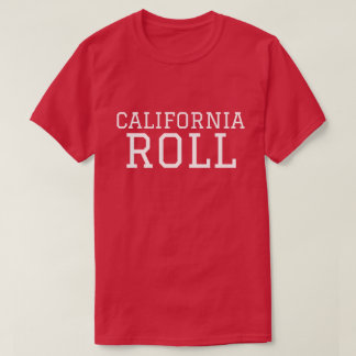 College of California Roll Sushi Shirt