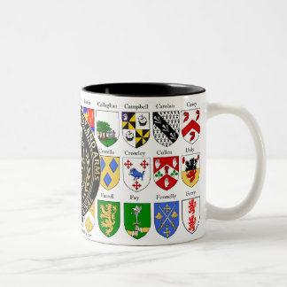 College of Heraldry Coat of Arms Two-Tone Coffee Mug