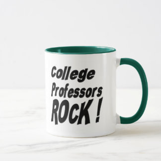 College Professors Rock! Mug