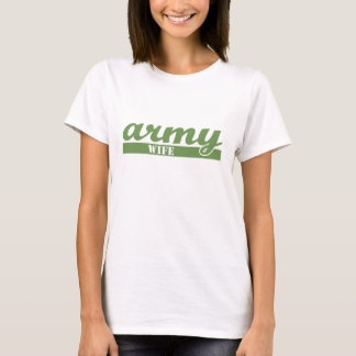 Collegiate Army Wife T-Shirt