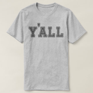 Collegiate Y'all (Dark on Light) T-Shirt