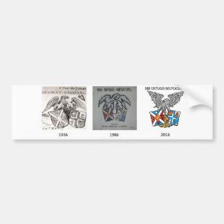 Collegio Armeno Historical Emblems Bumper Sticker
