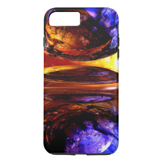 Colliding Forces Abstract iPhone 7 Plus Case
