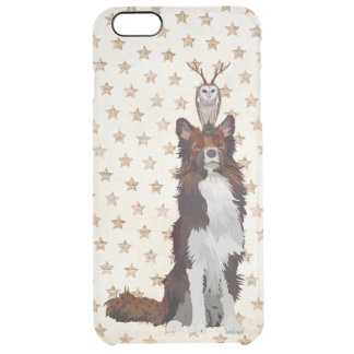 COLLIE & ANTLER OWL CLEAR iPhone 6 PLUS CASE