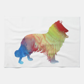 Collie Art Kitchen Towel
