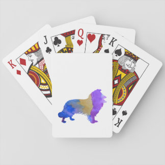 Collie Art Playing Cards