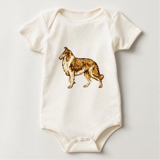 Collie Baby Bodysuit