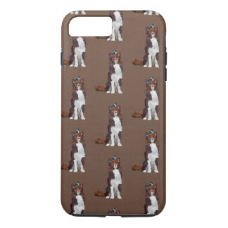 COLLIE & BLUE BIRD PATTERN Case-Mate iPhone CASE