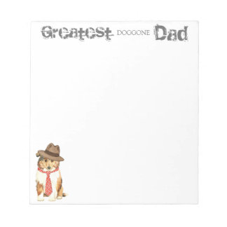 Collie Dad Notepad