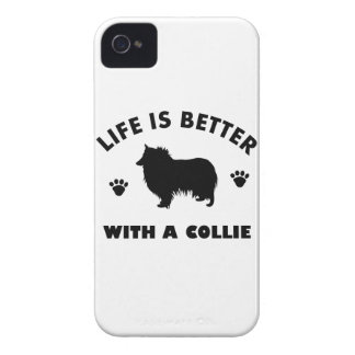 collie dog design iPhone 4 covers