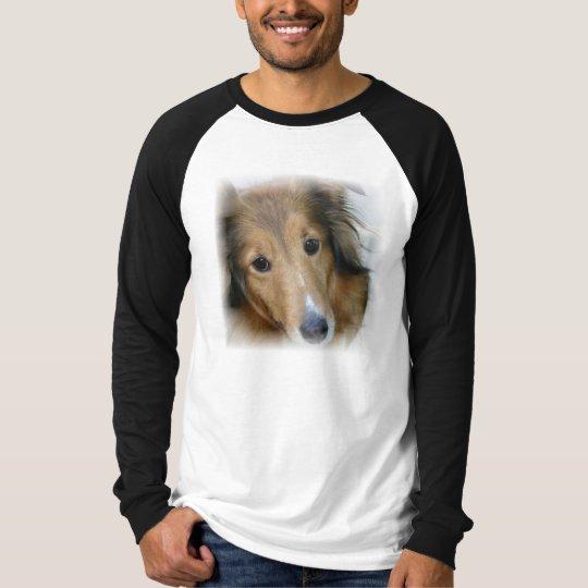 Collie Dog Men's Long Sleeve T-Shirt