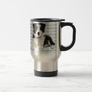 Collie Dog Pup Travel Mug