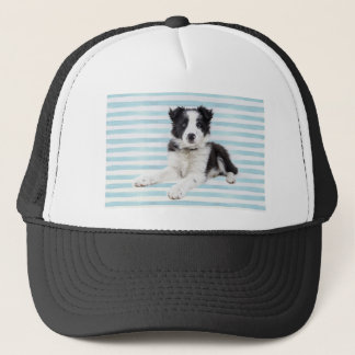Collie Dog Pup Trucker Hat
