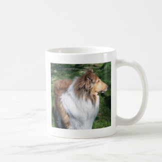 COLLIE, Everyday is a collie-day Basic White Mug