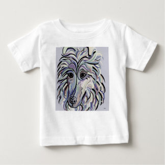 Collie in Denim Colors Baby T-Shirt