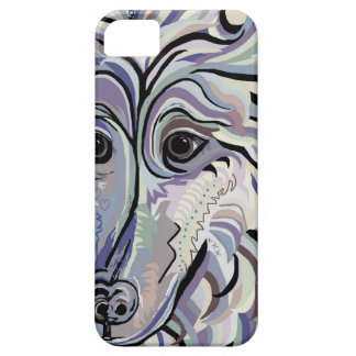 Collie in Denim Colors iPhone 5 Case