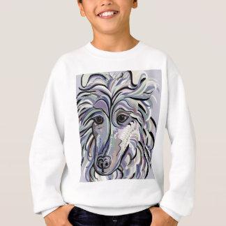 Collie in Denim Colors Sweatshirt
