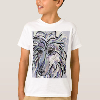 Collie in Denim Colors T-Shirt