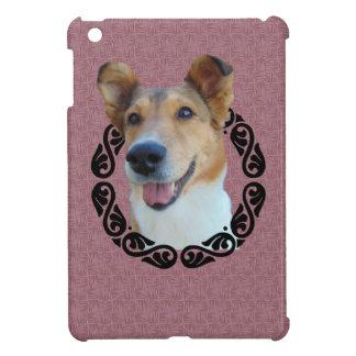 Collie in frame iPad mini covers