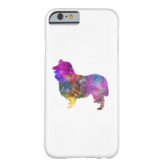 Collie in watercolor 2 barely there iPhone 6 case