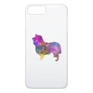 Collie in watercolor 2 iPhone 8 plus/7 plus case