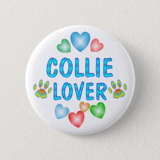COLLIE LOVER 2 INCH ROUND BUTTON