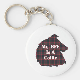 Collie Lovers Gifts Keychain