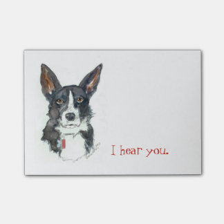 Collie Post it notes / YourDogPortrait.com
