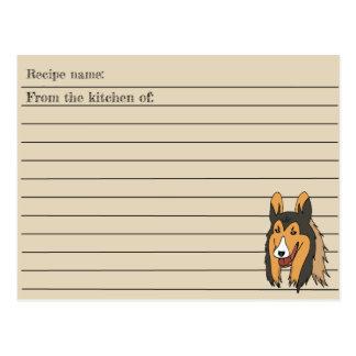 Collie Recipe Card
