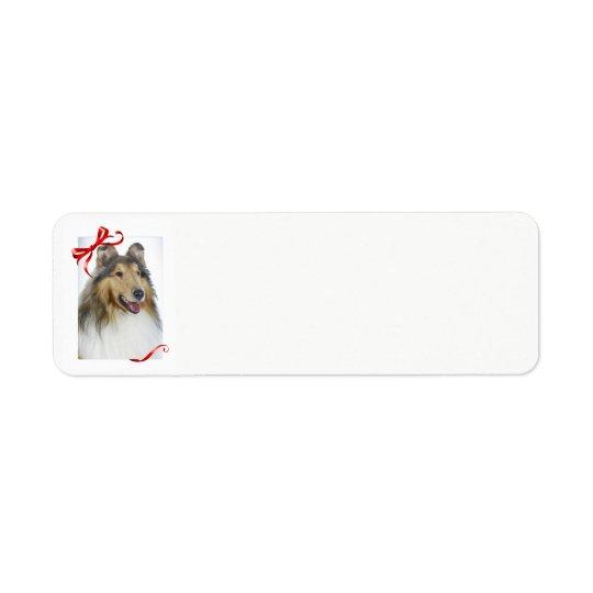 Collie Return Address Labels