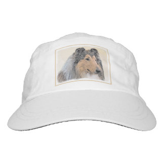 Collie (Rough) Painting - Cute Original Dog Art Hat